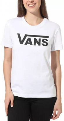 VANS Dámské triko WM Flying V Crew Tee White VN0A3UP4WHT1 L