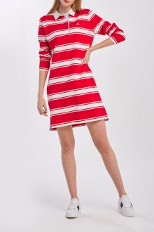 ŠATY GANT D1. STRIPED HEAVY RUGGER DRESS