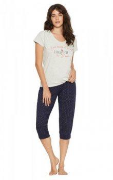 Henderson Leidis 38053 Fizzy dámské pyžamo XL grey