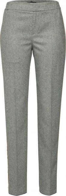SET Kalhoty s puky šedá