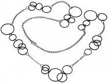 Boccia Titanium Černý titanový náhrdelník 0853-03