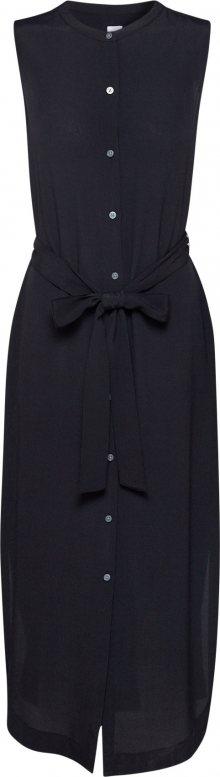 GAP Košilové šaty \'SL MAXI SHIRTDRS\' černá