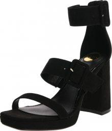 BUFFALO Páskové sandály \'JOLEENA\' černá