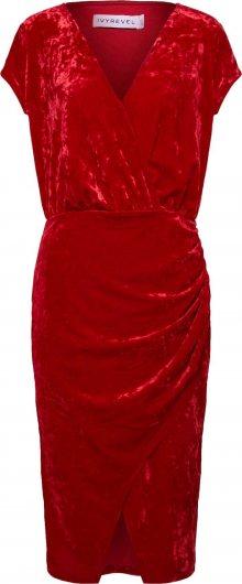 IVYREVEL Pouzdrové šaty červená