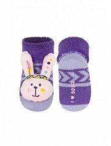 Soxo 02836 Chrastítko Dětské ponožky 16-18 oranžová