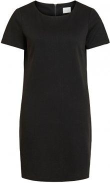 Vila Dámské šaty VITINNY NEW S/S DRESS - FAV Black S