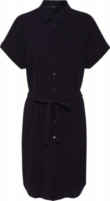 VERO MODA Košilové šaty \'Sasha\' SHIRT SS DRESS GA NOOS\' černá