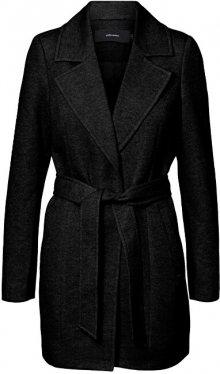 Vero Moda Dámský kabát VMVERODONA TRENCHCOAT NOOS Black XS