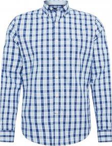 IZOD Košile \'POPLIN\' bílá / modrá