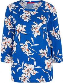 s.Oliver Dámská halenka 14.002.19.2869.56A2 Blue floral print 36