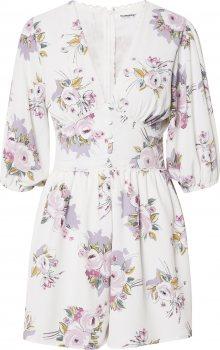 GLAMOROUS Šaty růžová / bílá