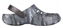 Coqui Pánské pantofle Kenso Antracit Camo 6305-203-2400 41