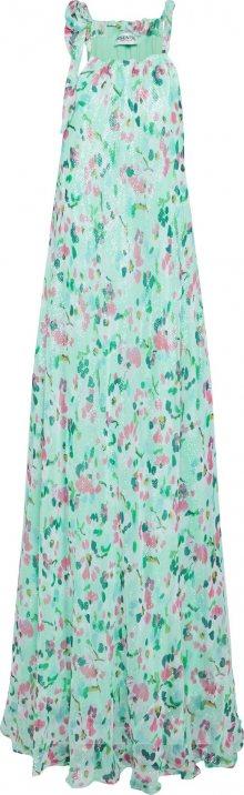 Essentiel Antwerp Letní šaty \'Vandale wide halter dress\' mix barev / mátová