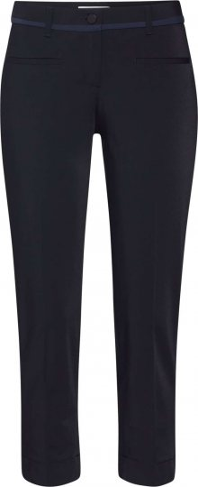 BRAX Kalhoty s puky \'MARON\' černá / modrá