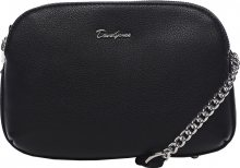 David Jones Dámská crossbody kabelka Black 6200-2