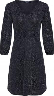SISTERS POINT Společenské šaty \'NURI-DR\' černá / stříbrná