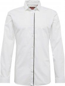 HUGO Společenská košile \'Emilionn\' bílá