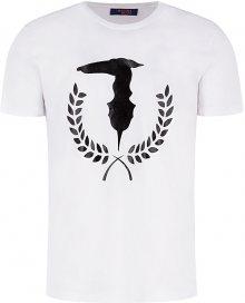 Trussardi Pánské triko T-Shirt Pure Cotton Regular Fit 52T00330-W001 M
