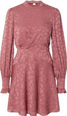 Forever New Společenské šaty \'Esme Jacquard Mini Dress\' růže