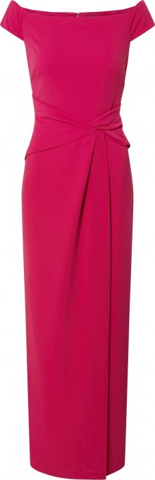 Lauren Ralph Lauren Společenské šaty \'SARAN-EVENING DRESS\' fuchsiová