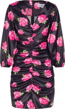 IVYREVEL Šaty \'FLORAL\' pink / černá