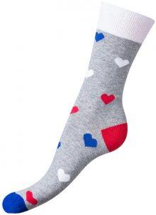 Bellinda Ponožky La+Me Crazy Socks šedá BE491004-309 35-38