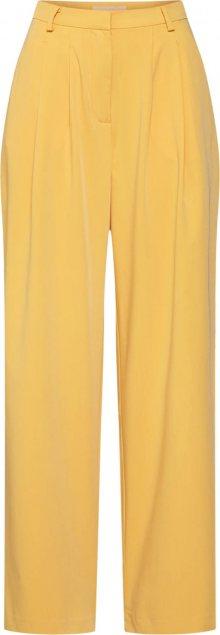 Soft Rebels Kalhoty se sklady v pase \'Jamie\' žlutá