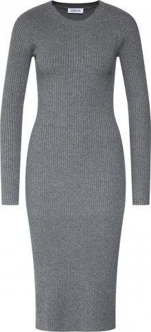 EDITED Úpletové šaty \'Hennie\' šedá