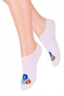 Steven Folk art.119 Dívčí ponožky 26-28 černá