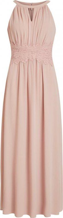 VILA Společenské šaty \'VIMILINA\' světle růžová