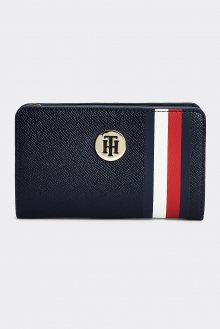 Tommy Hilfiger tmavě modrá peněženka Honey Med Half ZA Corp