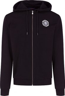 Trussardi Pánská mikina Hoodie Fleence With Print Pure Cotton Regular Fit M