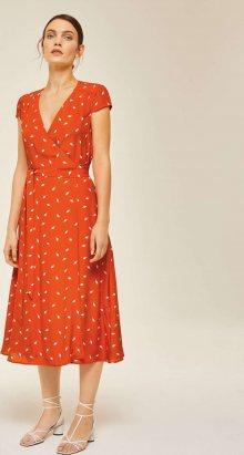 IVY & OAK Šaty oranžová