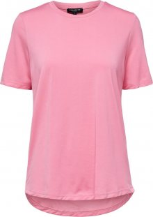 SELECTED FEMME Tričko růžová