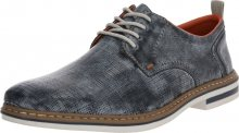 RIEKER Šněrovací boty chladná modrá