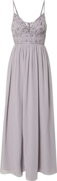 Laona Společenské šaty stříbrná / šeříková
