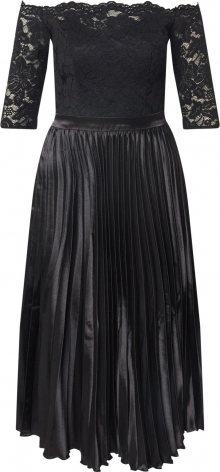 Chi Chi London Koktejlové šaty \'Anna-Marie\' černá