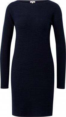 TOM TAILOR Šaty tmavě modrá