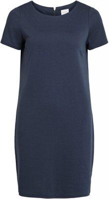 Vila Dámské šaty VITINNY NEW S/S DRESS - NOOS Total Eclipse XS