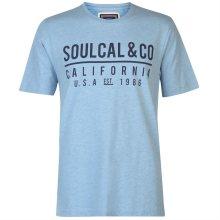 Pánské volnočasové tričko SoulCal
