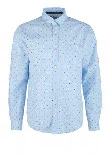 s.Oliver Pánská košile 13.002.21.6853.53K9 Blue M
