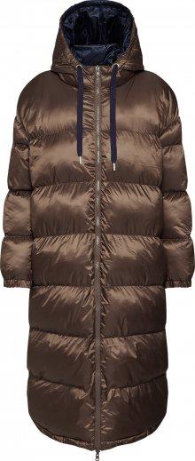 EDITED Zimní kabát \'Olwen\' hnědá / modrá