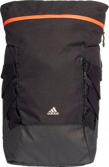 ADIDAS PERFORMANCE Sportovní batoh černá / oranžová