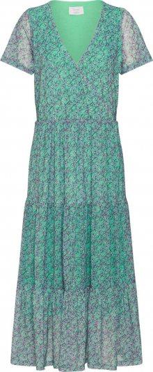 NÜMPH Letní šaty \'NUAINTZA\' zelená