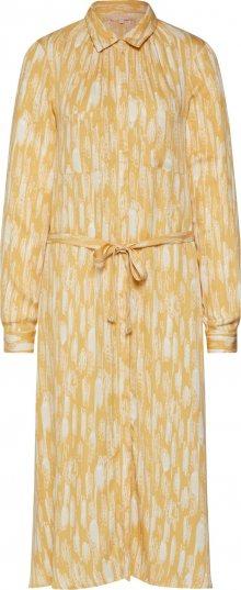 Soft Rebels Košilové šaty \'Blaze\' žlutá