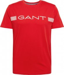 GANT Tričko \'D1\' červená