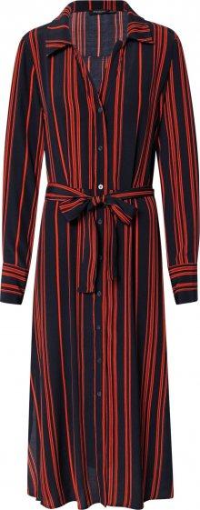 SOAKED IN LUXURY Košilové šaty \'SLHalima Dress\' červená / modrá