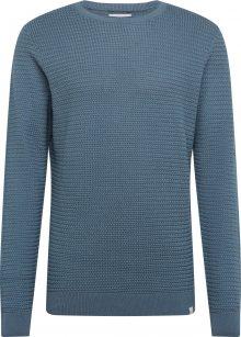 NOWADAYS Svetr \'Basket Stitch Sweater\' modrá