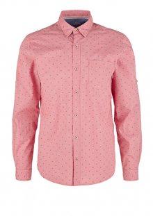 s.Oliver Pánská košile 13.002.21.6853.32K1 Dragonfruit dobby M