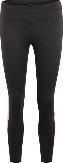 ESPRIT SPORTS Sportovní kalhoty antracitová / černá / růžová